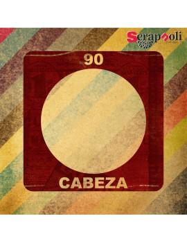 Plantilla Cabeza 90 mm