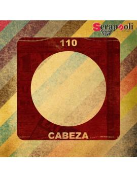 Plantilla Cabeza 110 mm