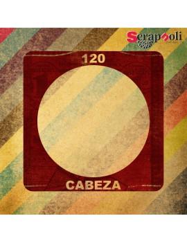 Plantilla Cabeza 120 mm