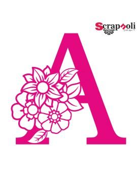 Letra floral C1-A