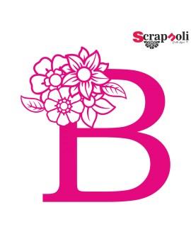 Letra floral C1-B