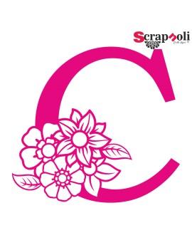 Letra floral C1-C