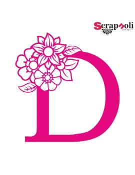 Letra floral C1-D