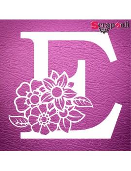 Letra floral C1-E