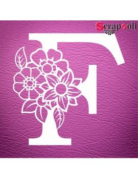 Letra floral C1-F