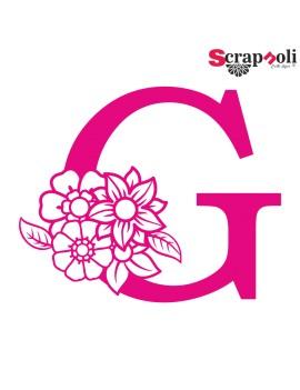 Letra floral C1-G