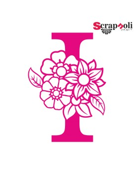 Letra floral C1-I