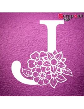 Letra floral C1-J
