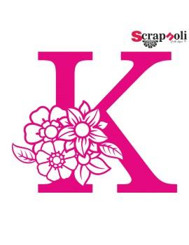 Letra floral C1-K