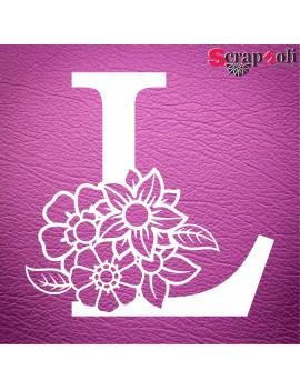Letra floral C1-L
