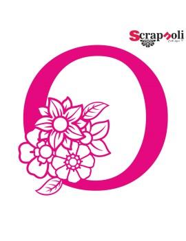 Letra floral C1-O