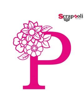 Letra floral C1-P