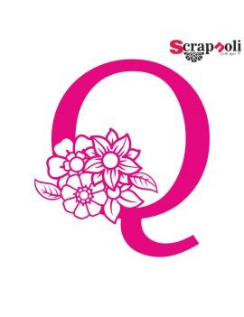 Letra floral C1-Q