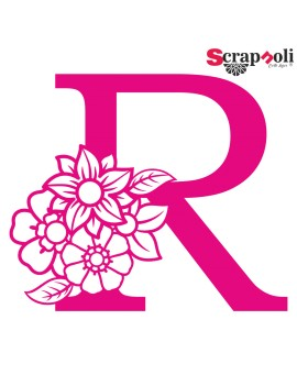 Letra floral C1-R