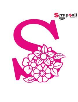 Letra floral C1-S