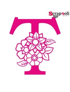 Letra floral C1-T
