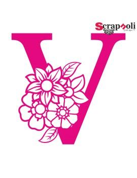 Letra floral C1-V