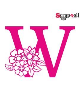 Letra floral C1-W