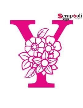 Letra floral C1-Y
