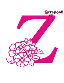 Letra floral C1-Z