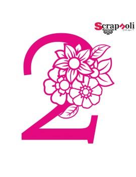 Numero floral C1-2