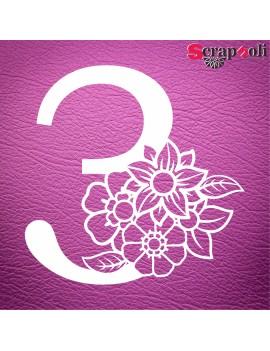 Numero floral C1-3