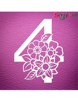 Numero floral C1-4