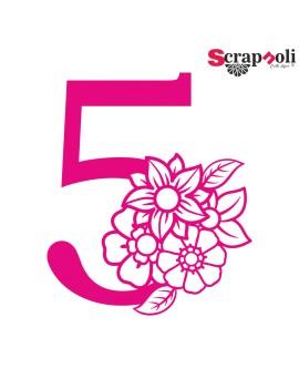 Numero floral C1-5
