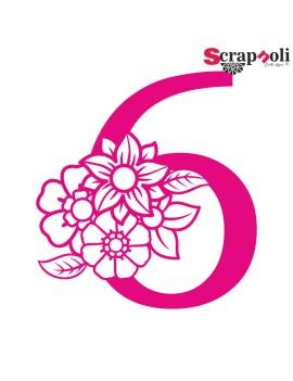 Numero floral C1-6