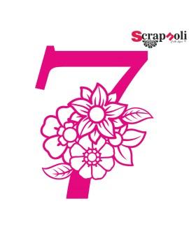 Numero floral C1-7