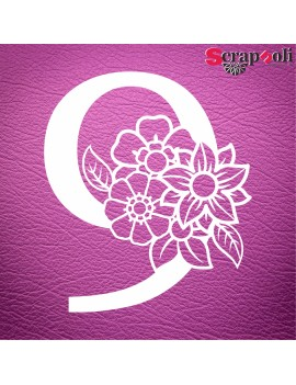 Numero floral C1-9