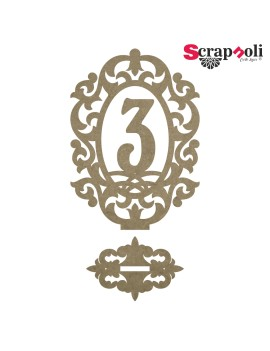Número mesa B3