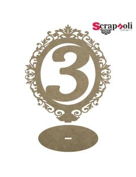 Número mesa B5