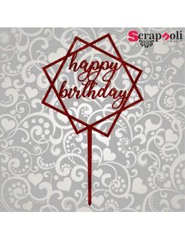 Topper Happy Birthday T1