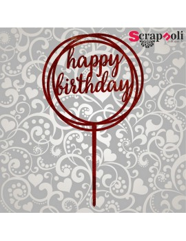 Topper Happy Birthday T2