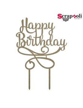 Topper Happy Birthday T3