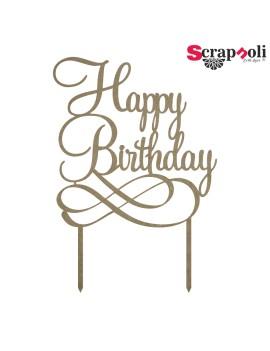 Topper Happy Birthday T4