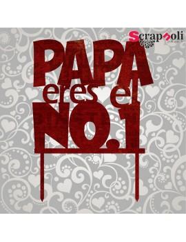 Topper Papá T3