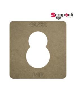 Plantilla Pie 40/50 mm