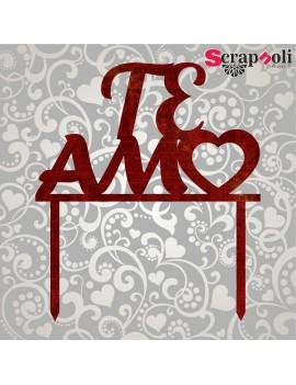 Topper Te amo T2