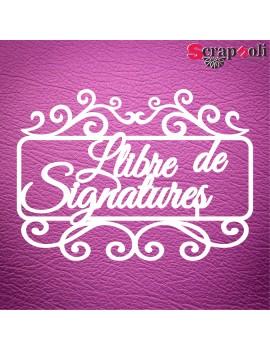 Llibre de Signature C1