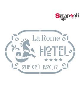 Stencil Sello 7